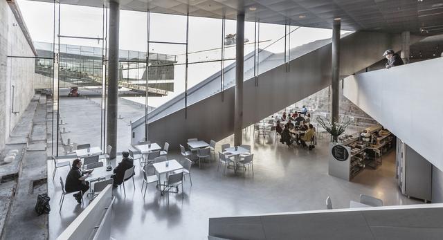 Architektura wnętrz Duńskiego Muzeum Morskiego